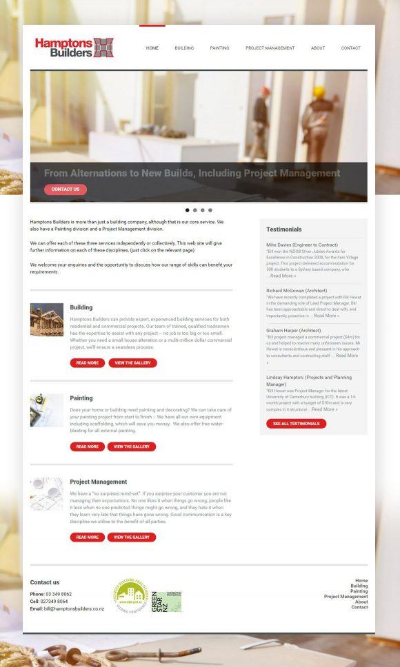 Site web réalisé par Pauline Laurent
