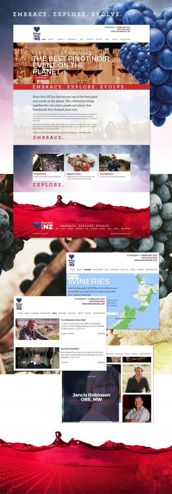 Intégration du site internet par Pauline Laurent