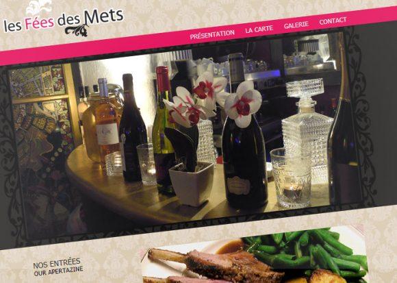 Site internet pour un restaurant par Pauline Laurent